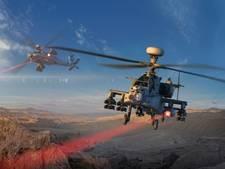 Science fiction wordt werkelijkheid: Apache heeft laser als wapen