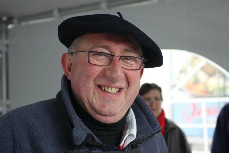 Arnel Calcoen eerder dit jaar tijdens de visbak van vzw Promovis.