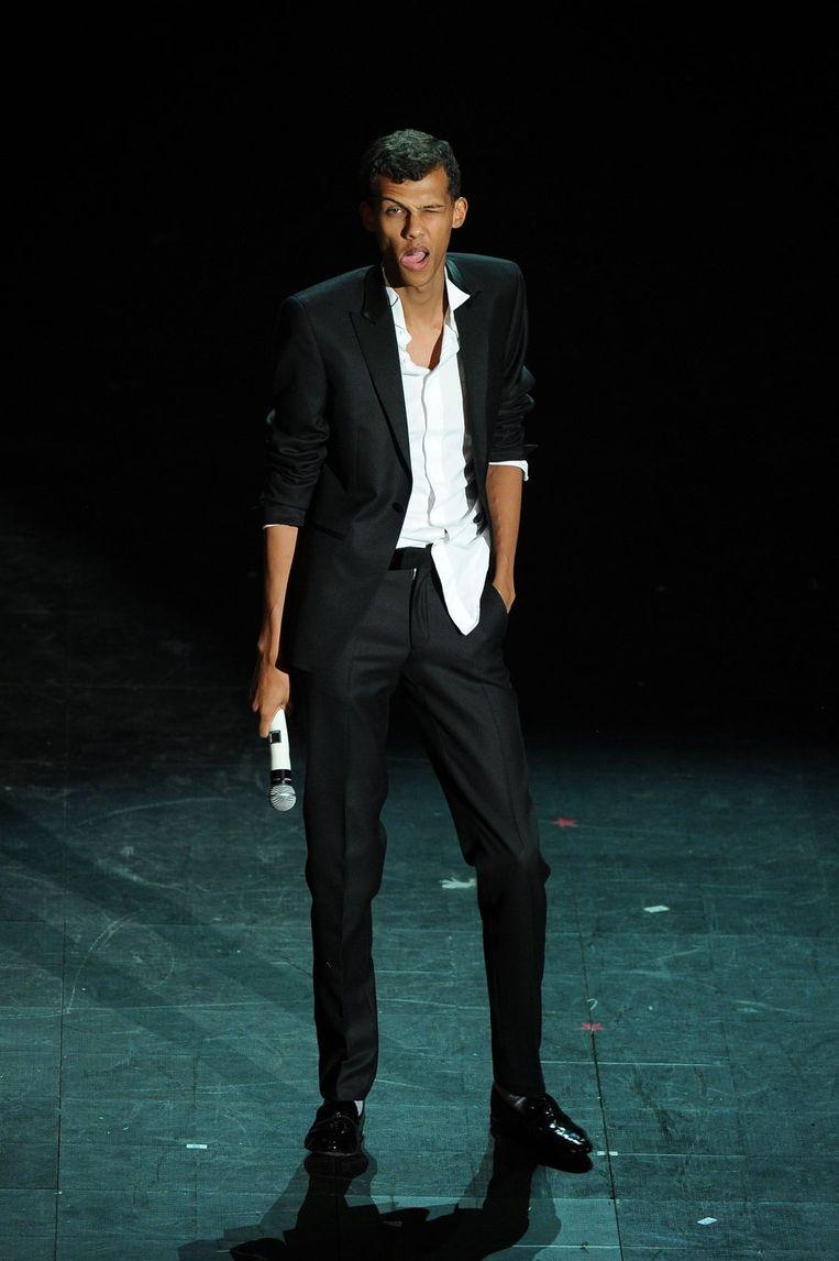 De Belgische artiest Stromae. Beeld photo_news