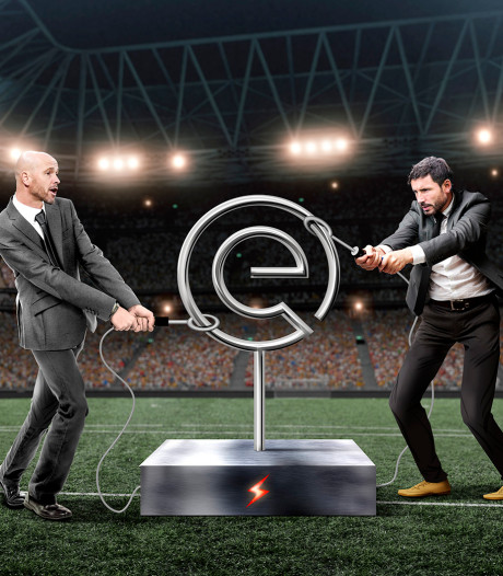 Ajax en PSV in de greep van de titelstrijd