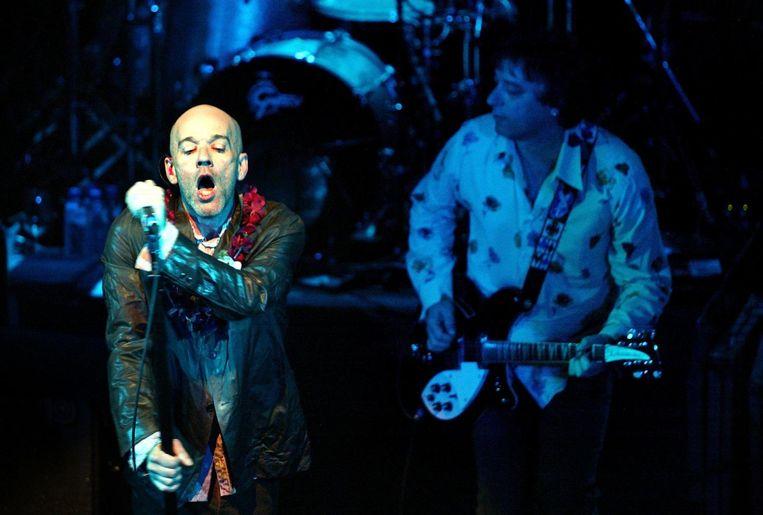 R.E.M. in de Tivoli in 2003. Beeld anp