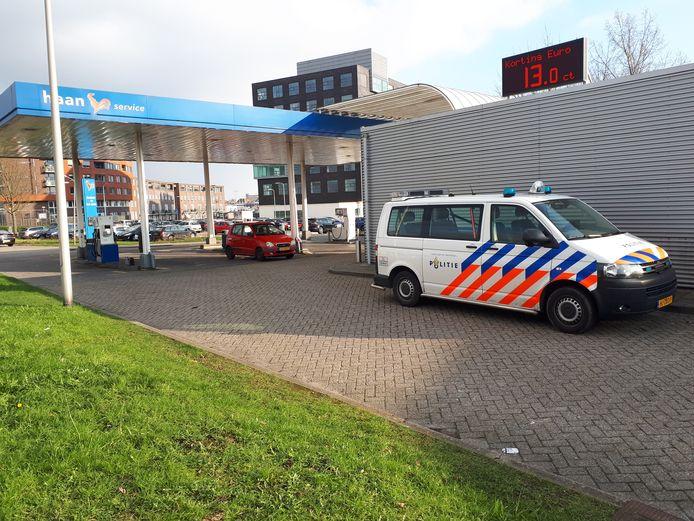 Tankstation De Haan werd in februari 2018 overvallen.