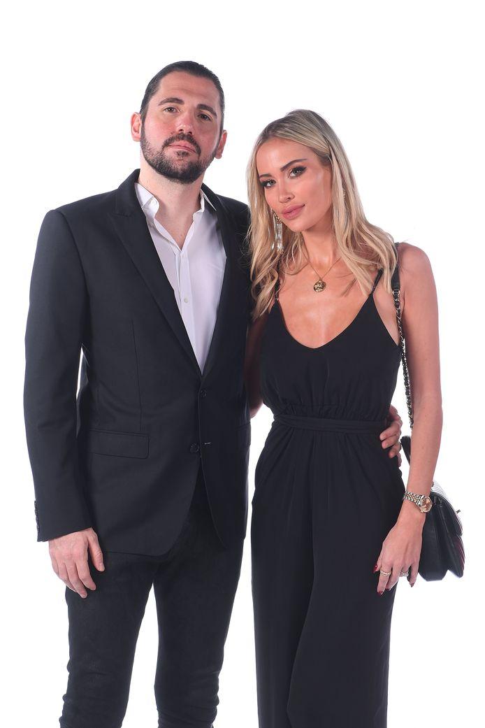 DJ Dimitri Vegas et sa femme Anouk Matton
