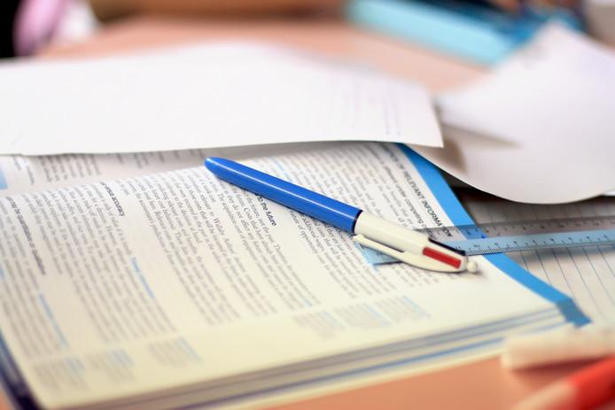 Weer studeren.