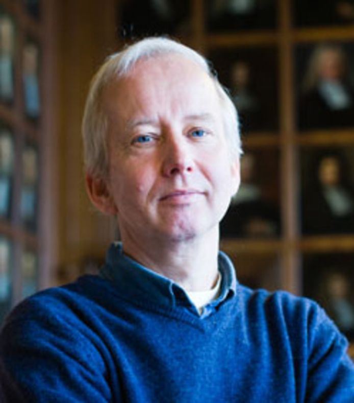 Hoogleraar Gerrit Bloothooft van de Universiteit Utrecht