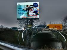 Actie tegen overlast van ledreclame langs snelwegen