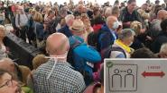 """Eén meter afstand houden blijkt moeilijk op luchthaven Tenerife: """"Iedereen staat hier op elkaar. Onvoorstelbaar"""""""