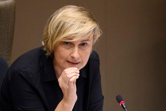 De Vlaamse minister van Werk Hilde Crevits (CD&V).