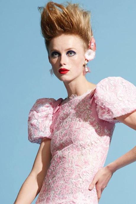 Het laatste model voor de lens van Karl Lagerfeld was misschien wel Rianne uit Wageningen