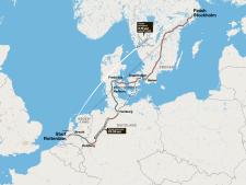 Leuk plan, met de trein naar Stockholm - maar dat gaat niet zonder slag of stoot