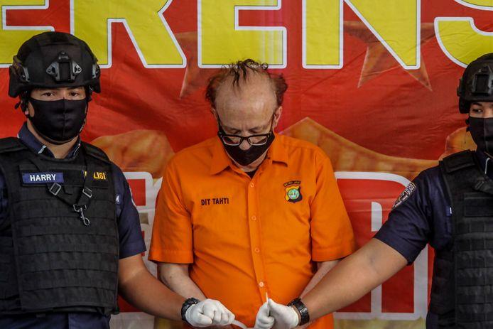 François Abello Camille, 65 ans, a été arrêté ce vendredi à Jakarta.