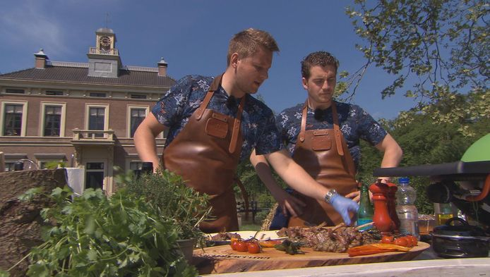 Twee Osse deelnemers programma Grillmasters RTL