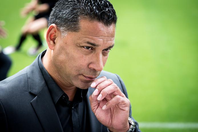 Vitesse-trainer Henk Fraser.