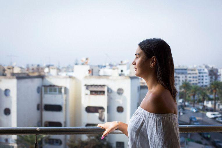 Twee jaar geleden verruilde Ghizlan Den Haag voor Casablanca Beeld Deborah Benzaquen