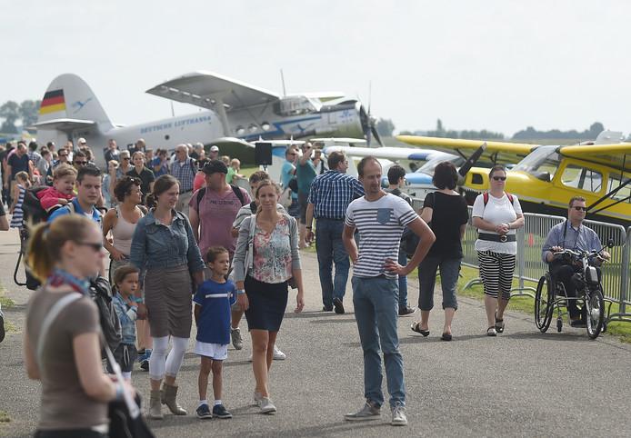 Sfeerimpressie van een eerdere editie van de Zeeuwse Luchtvaartdagen