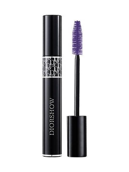 Diorshow mascara, verkrijgbaar in zwart, bruin, paars en blauw