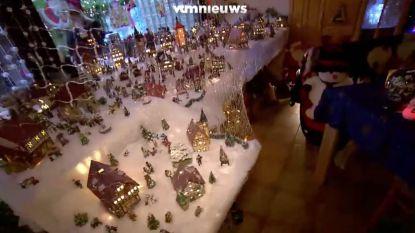 Dit koppel is duidelijk grote fan van kerst: Dirk en Barbara werken al sinds zomer aan kerstversiering