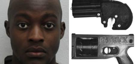 Brit moet drie jaar cel in om werkend pistool uit 3D-printer
