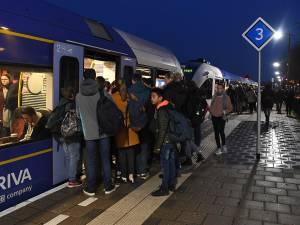 Maaslijn blijft probleem: reiziger moet maar wennen aan storingen