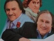 Gérard Depardieu travesti dans une pub ukrainienne