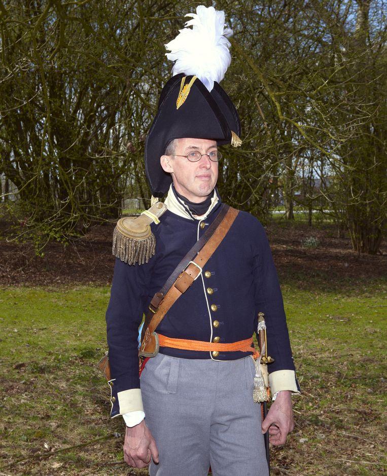 Sjak Draak (51) speelt graaf Willem Frederik van Bylandt: 'Er gaan zeker gewonden vallen.' Beeld Daniel Cohen
