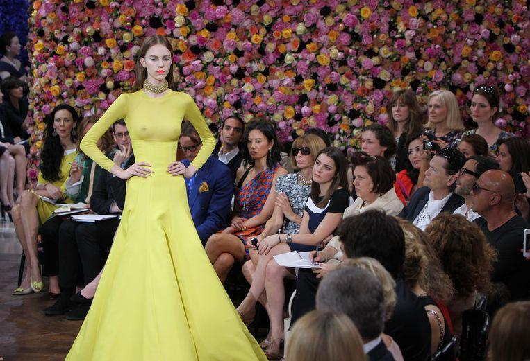 Haute Couture Herfst/Winter 2012-2013 modeshow voor Dior.