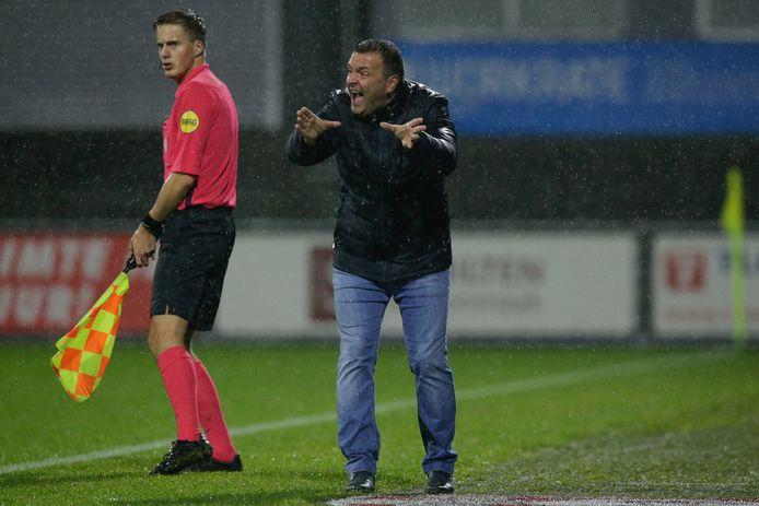 Coach Claudio Braga van FC Dordrecht