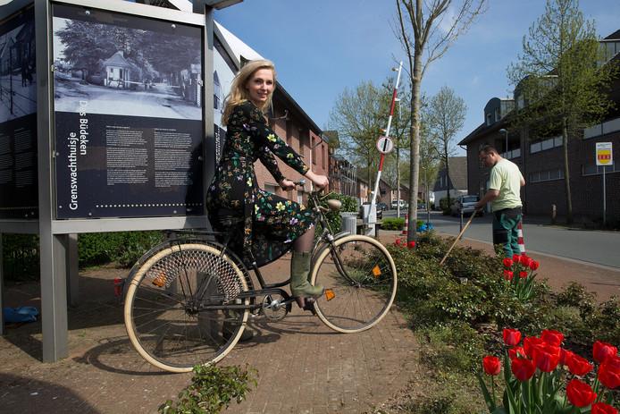 Esther Ruesen vertelt het bijzondere verhaal van haar Duits-Nederlandse familie. Foto: Theo Kock