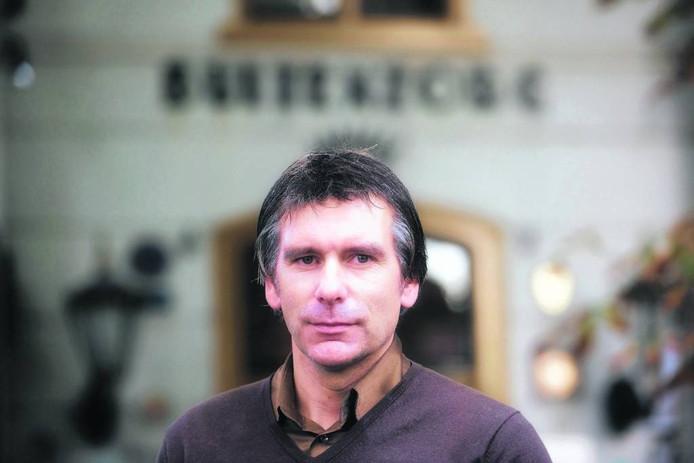 Lodewijk de Kruif, trainer van Duno. foto Herman Stöver