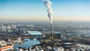 De Nuon kolencentrale in Amsterdam