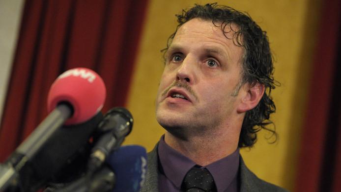 Cor Bosman, een van de Limburgse PVV'ers die zichzelf in dienst heeft genomen als fractiemedewerker. ©ANP