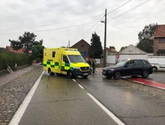 N29 half uur afgesloten in Glabbeek na ongeluk met fietser