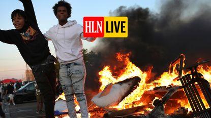 HLN LIVE. Woedende massa op straat: protesten voor de dood van de Amerikaanse George Floyd na politiegeweld houden aan