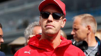 Sebastian Vettel moet oppassen voor schorsing in Formule 1