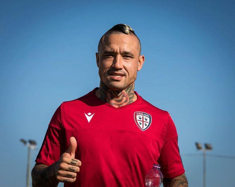 Nainggolan trainde vandaag een eerste keer mee met Cagliari