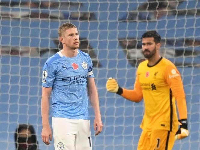Ondanks een 5 op 6 en de laagste stresshormonen: zelfs Kevin De Bruyne helpt Man City niet van zijn penaltytrauma af