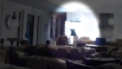 Schrikken! Beer plundert koelkast leeg terwijl tienerjongens tv kijken