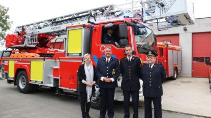 Brandweerkorps van Berlare beschikt over gloednieuwe ladderwagen