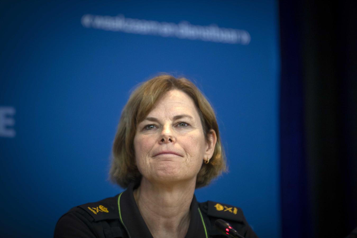 Jannine van den Berg.
