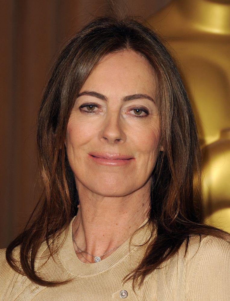Kathryn Bigelow kreeg in 2008 een Oscar voor haar film 'The Hurt Locker'. Ze was daarmee de eerste vrouwelijke regisseur die een Oscar won. Beeld Getty Images