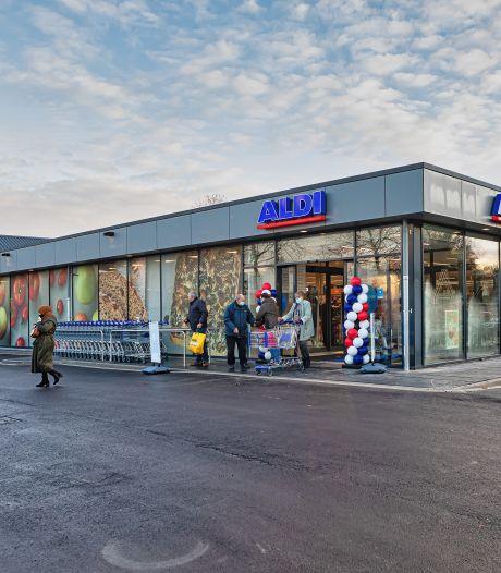 Daar is de Aldi dan: nieuwe winkel aan de Zandheuvel 'loopt al lekker door'