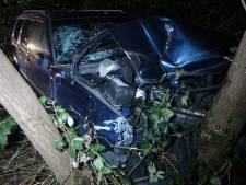 Uit de bocht en in het bos: meerdere gewonden bij eenzijdig ongeval in Havelte
