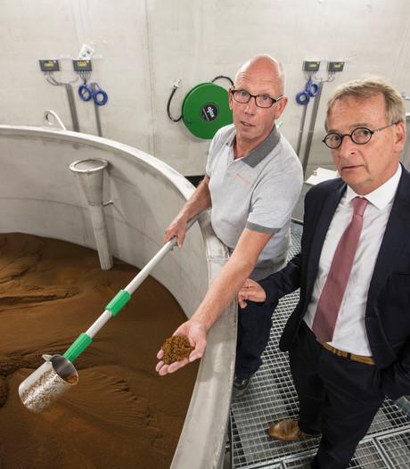 Wateronthardingsinstallatie Lieshout geopend: zachter water uit een 'toeter'
