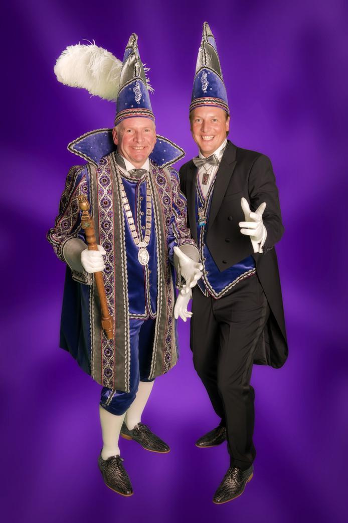 Hertog Johan en sik Stijn van de Oldenzaalse Oelewappers