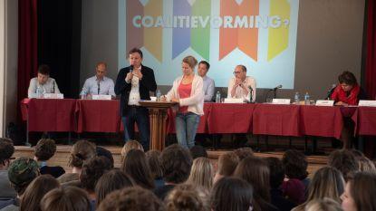 Politieke koptukken in debat op Jozefieten College Melle