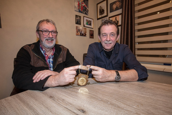 Frans Mennen (links) en Cor Aldenzee.