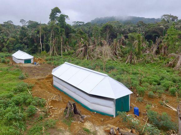 De Maggie-shelter in Kameroen