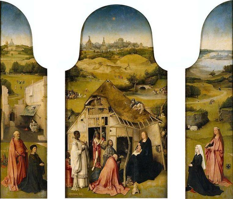 3. De Aanbidding door de Koningen. Beeld Museo del Prado