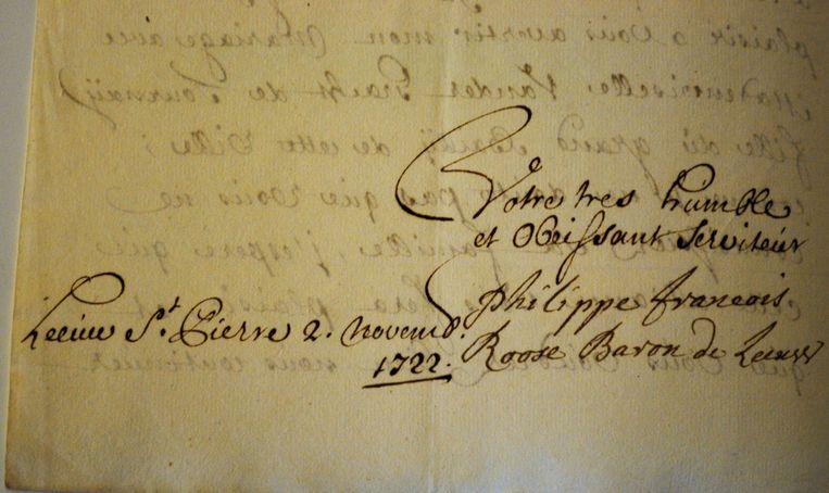 Het gemeentebestuur van Sint-Pieters-leeuw kocht een collectie brieven aan die toebehoorden aan de families Roose en Coloma.