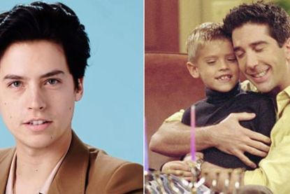Cole Sprouse speelde de zoon van Ross in 'Friends', maar waarom verdween hij plotseling?
